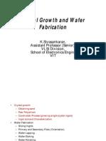 Crystal Growth Wafer Preparation