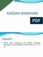 KAEDAH NYANYIAN