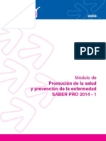 Promoción de La Salud y Prevención de La Enfermedad 2014-1.
