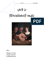 UNIT2.Renaissance Music