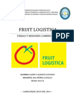 Fruit Logistica (Trabajo Final)
