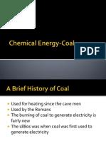 chemical energy-coal