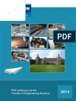 PhD Defence Topics