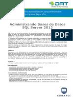 AdministrandoBases de Datos SQL Server 2012