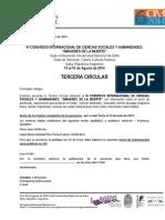 III Circular VI Imágenes de La Muerte -Español