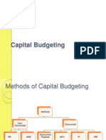 Cap Budget Discounted