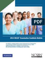 2014 NCLEX Candidate Bulletin