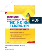Saunders Comprehensive Review For The NCLEXdocx