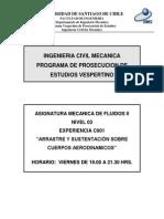C901 Arrastre y Sustentación Sobre Cuerpos Aerodinámicos