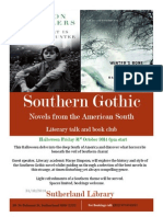 Southern Gothic event