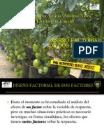 D Factorial General Dos Fectores Teoria UAAAN
