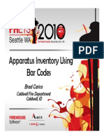 Inventory With Bar Coding 10