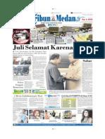 Halaman Muka Tribun Medan 27 Mei 2014