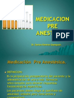 Medicacion Pre Anestesica.