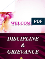 Discipline and Grievance