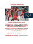 Aboriginal Australians Assessment Task