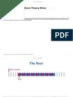 Meter and Rhythmic Notation Breakdown