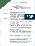 PERDIRJEN 06/KN/2013 Petunjuk Teknis Pelaksanaan Lelang 2013