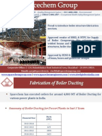 Boiler Ducts Fabrication for Power Plants – SpacechemGroup