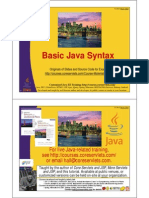 03 Basic Java Syntax