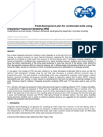 SPE-160924-MS - To Develop the Optimum Field Development Plan for Condensate Well Using IPM