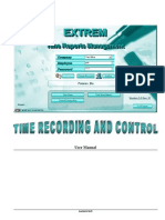 Extrem Timesheet User Manual