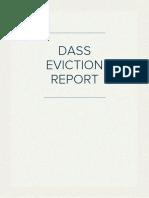 DASS  Report- Elderholme Evict Doreen Beddows