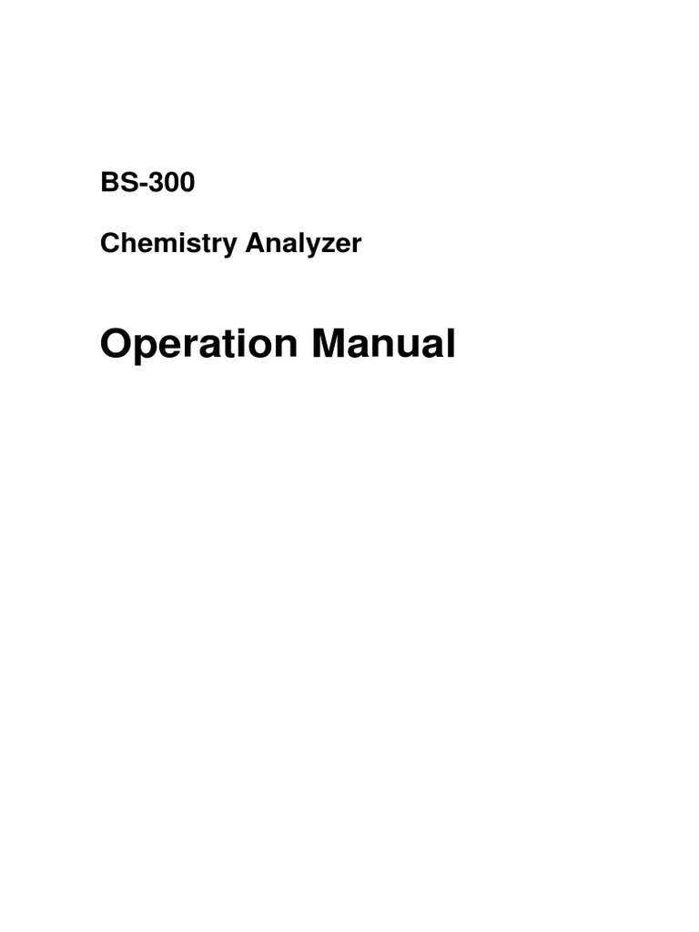 BS300 Operation Manual Barcode – Operation Manual