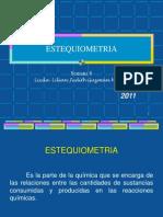 06Estequiometria2011