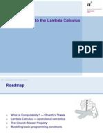 06 Lambda Calculus