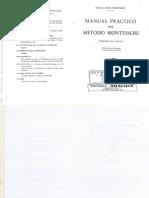 Manual Pr Ctico Del m Toso Montessori