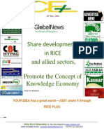28th May,2014 Daily ORYZA Exlusive Rice E-Newsletter by Riceplus Magazine