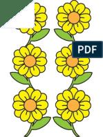 Bunga gantung sambung