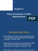 Chapter 9 - Policy Formulation-020514_103538