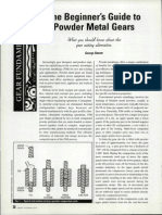The Beginners Guide to Powder Metal Gears