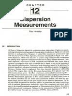 Dispersion Measurements