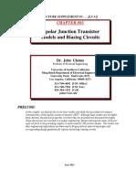 Chapter 3 - Analog Integrated Circuit Design by John Choma