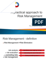 A Practical Approach to Risk Management Stan O Neill
