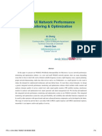 WiMAX Network Performance Monitoring & Optimization