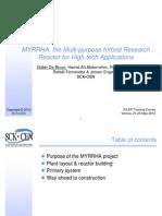 MYRRHA Multi-purpose HYbrid Research Reactor for High-tech Applications 2