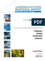 Airport Terminal Design Guidelines