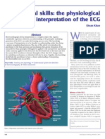 the physiological basis and interpretation of the ECG