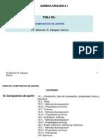 13 UNIDAD XIII-Org I (Comp de Azufre)