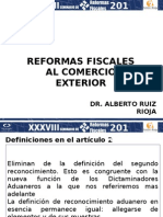 Reformas Fiscales Al Comercio Exterior