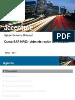 Curso SAP HR03 - Administracion de Personal