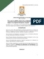 Usbbog Resolucion Trabajos de Grado 2014