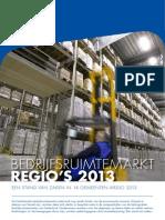 NVM Bedrijfsruimtemarkt regio's 2013