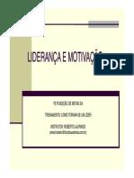 LIDERANÇA 2012