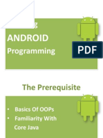 Android learning, market share, versions, OHA