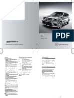 Mercedes GL 2013 user manual
